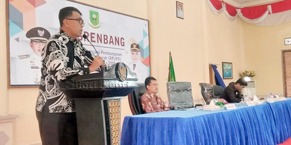 Sekda Natuna Buka Musrenbang Perubahan RPJPD 2005 - 2025 2