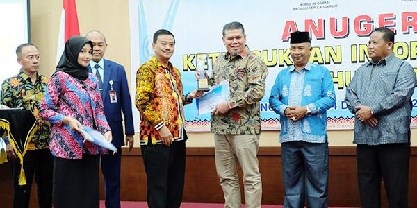 Kominfo Kepri Gelar Anugerah Keterbukaan Informasi Publik 2019
