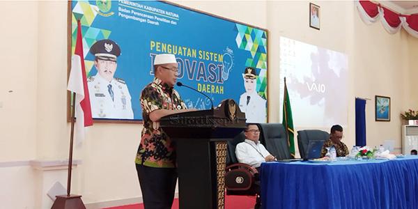 Ikhwal Solihin : Inovasi Daerah Peluang Berkreativitas dan Berkarya