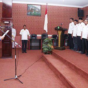 Syahrul Lantik Pengurus KONI Tanjungpinang 6