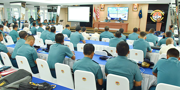 Kadiskual Buka Rekonsiliasi Internal Semester II Gelombang III