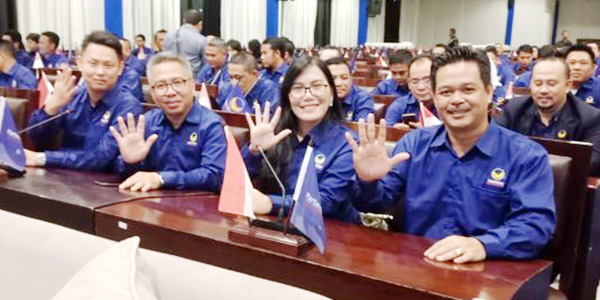 Lima Kader NasDem Tanjungpinang Sekolah Legislatif