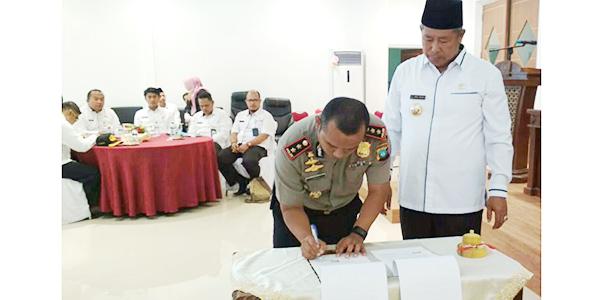 Delapan OPD Jadi Perhatian Tim Saber Pungli, Termasuk Kecamatan