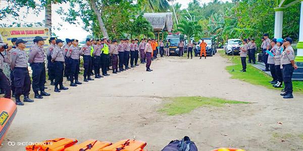 Antisipasi Bencana, Polres Gelar Pelatihan SAR