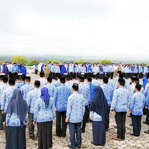 Upacara 17 Hari Bulan Januari 2020 Pemerintah Kabupaten Natuna