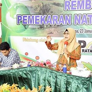 Wakil Bupati Natuna, Hj Ngesti Yuni Suprapti, membuka secara resmi Acara Rembuk Bersama Pemekaran Natuna Menjadi Provinsi
