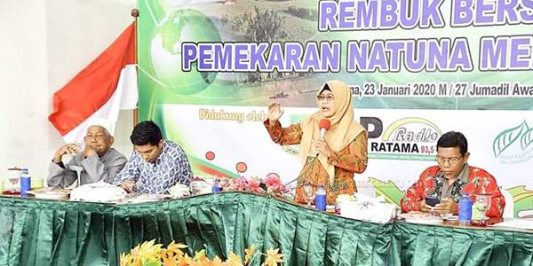 Natuna Serius Bentuk Provinsi Baru