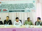 KPU Anambas Sosialisasi PKPU Nomor 16 Tahun 2019 2