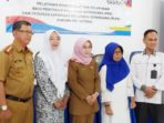 Ketua TP-PKK Natuna Hj Nurhayati Hamid Rizal, Doktor Rika Azmi, Rizal Rinaldy, Narasumber dari Perwakilan BKKBN Provinsi Kepri