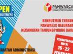 Panwascam Tanjungpinang Barat Rekrut Tenaga Panwaslu Kelurahan 5