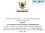 Wajib Dibaca, Ini Peraturan KPU Tentang Pilkada Serentak Tahun 2020 7