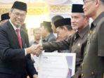 Hadiri Pengukuhan Kepala Perwakilan BPKP Riau, Wabup Meranti Terima Sertifikat APIP Level 3 8