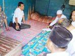Bupati dan Wabup Meranti Tinjau Rumah Warga di Desa Banglas 1