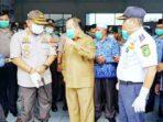 Bupati Meranti, Irwan, mengeluarkan beberapa kebijakan penting, yaitu akan memasang gate thermal scaner di Pelabuhan Tanjung Harapan