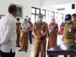 Bupati Natuna, Drs H Abdul Hamid Rizal, melakukan sidak ke Rumah Sakit Umum Daerah Natuna