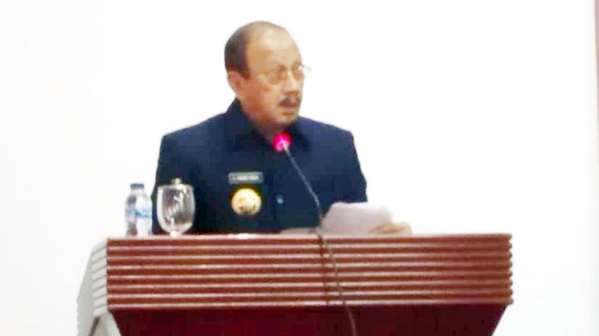 Bupati Natuna Sampaikan Ranperda Kabupaten Natuna Tahun 2020 2