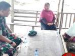 Di Tengah Kegiatan TMMD, Dandim 0315/Bintan Sambangi Warga Lansia 4