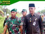 Dandim 0315/Bintan dan Walikota Dampingi Danrem 033/WP Tinjau Lokasi TMMD ke 107 di Tanjung Siambang 10