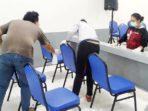 GMKI Uniba Gelar Kegiatan Bersih-Bersih di Gereja Gemindo Diaspora 2
