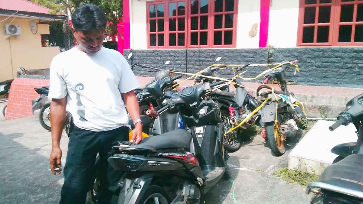 Tiga Pelaku Pencurian Sepeda Motor Mahasiswi STTI Ditangkap 1