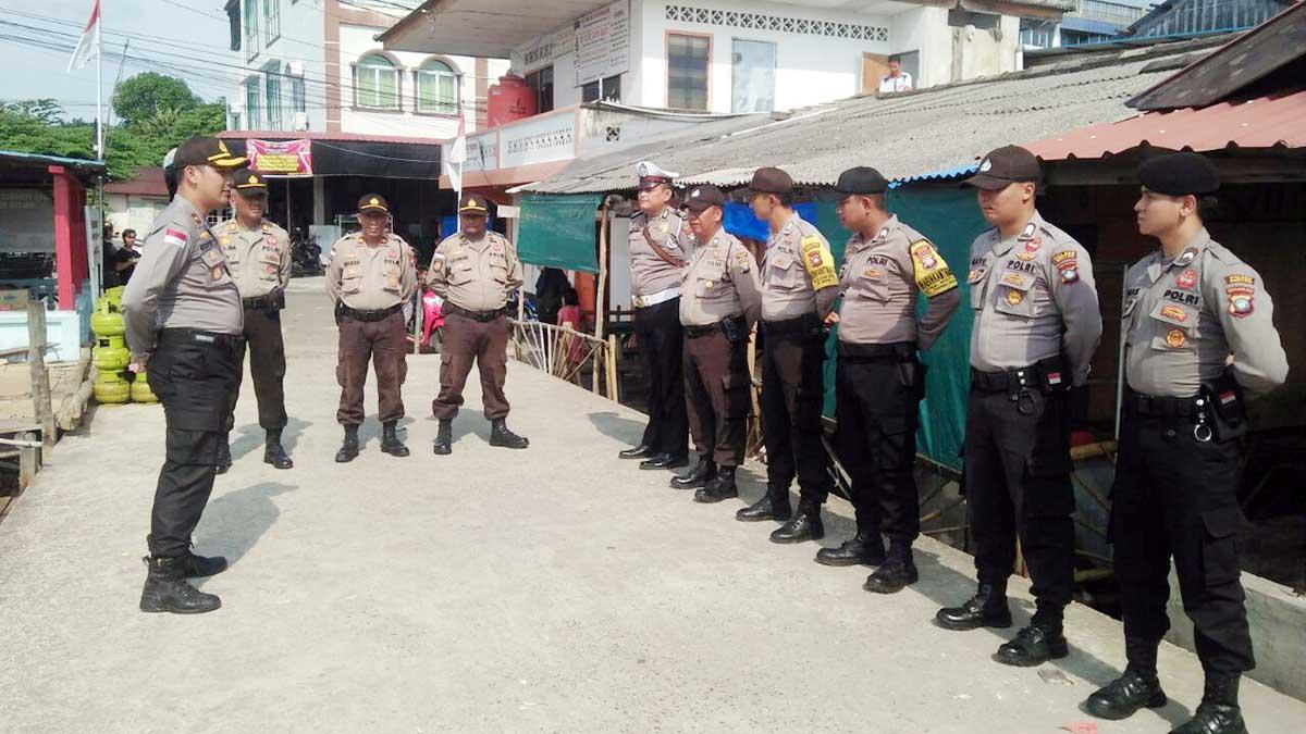 Bersama TNI, 10 Personil Polsek Bintim Pantau Pulau Terluar 1