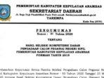 Pengumuman Hasil SKD CPNS Pemkab Anambas Formasi 2019 10