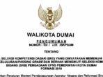 Pengumuman Hasil SKD CPNS Pemko Dumai Formasi 2019 6