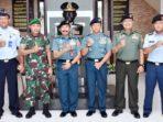 Kumpulkan Data Pemda, TNI dan Polri, Tim Sahli Panglima TNI Kunjungi Lantamal IV 9