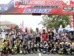 Syahrul Lepas Pembalap Telkomsel RF Road Race Championship Seri 1 Tahun 2020 4