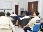 Bupati Natuna, H Abdul Hamid Rizal, melakukan Vidio Conference dengan Plt Gubernur Kepri, Isdianto, terkait Percepatan Penanganan COVID-19 di Provinsi Kepri