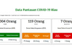 Update COVID-19 Riau, Dalam Pantauan Bertambah Jadi 20.004 Orang 6