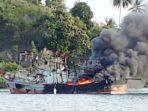Pembakaran Kapal Asal Karimun di Tambelan, Warga, Nahkoda dan 11 ABK Diminta Keterangan 1