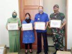 Natuna Dapat Bantuan APD dari Batalyon Komposit I dan Jelita Sejuba Resort 4