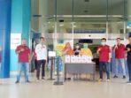 Melayu Raya Bintan Sumbang Lima Jerigen Cairan Disinfektan 1