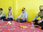 Wakil Ketua AJOI Natuna, Bernard Simatupang, bersama Kapolres Natuna, AKBP Ike Krisnadian S.IK dan Jajaran Polres Natuna