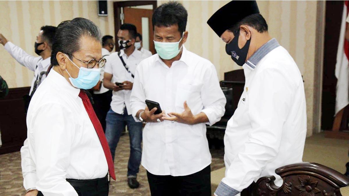 Ketua DPRD Kepri Minta Tim Gugus Tugas Petakan Lokasi Zona Merah Covid-19 1
