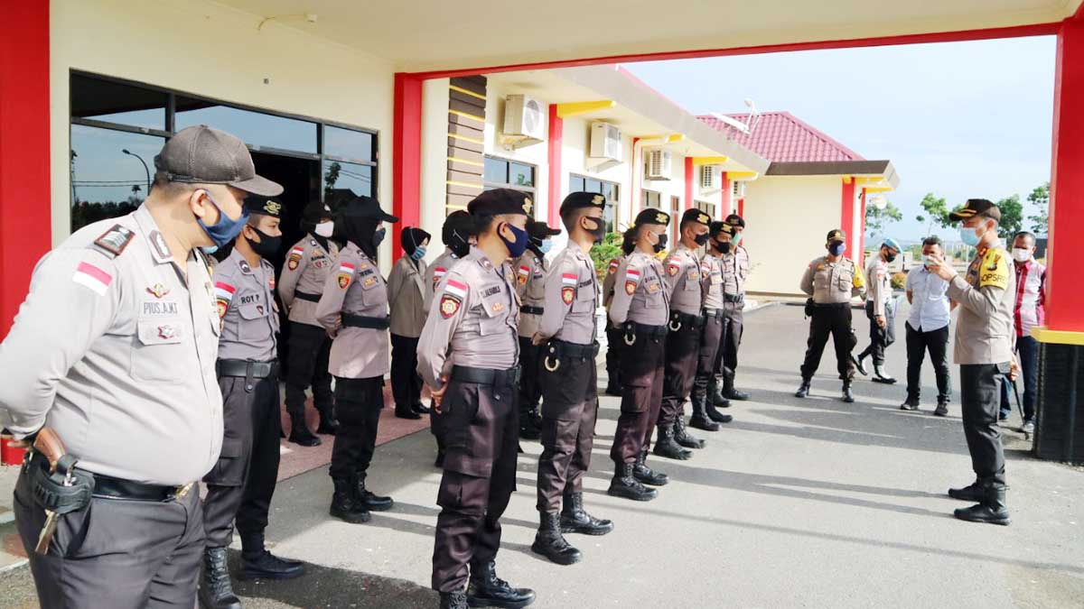 Polres Bintan Gelar Pelatihan Call Centre 110 1