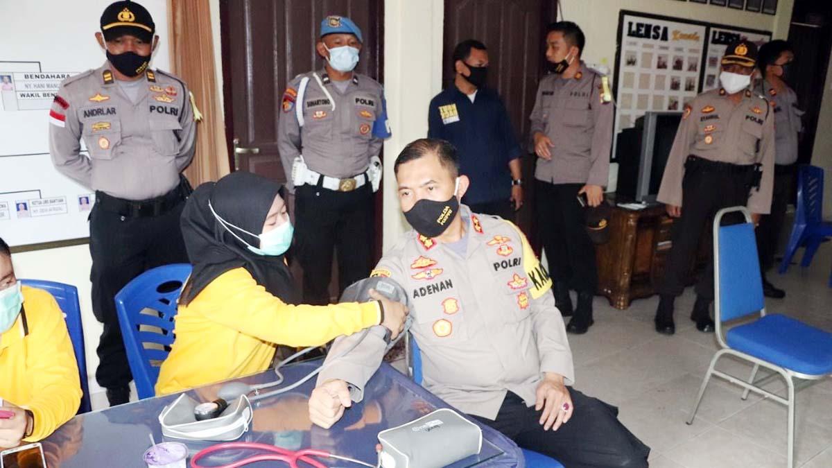 Polres Karimun dan TNI Sumbang 36 Kantong Darah ke PMI 1