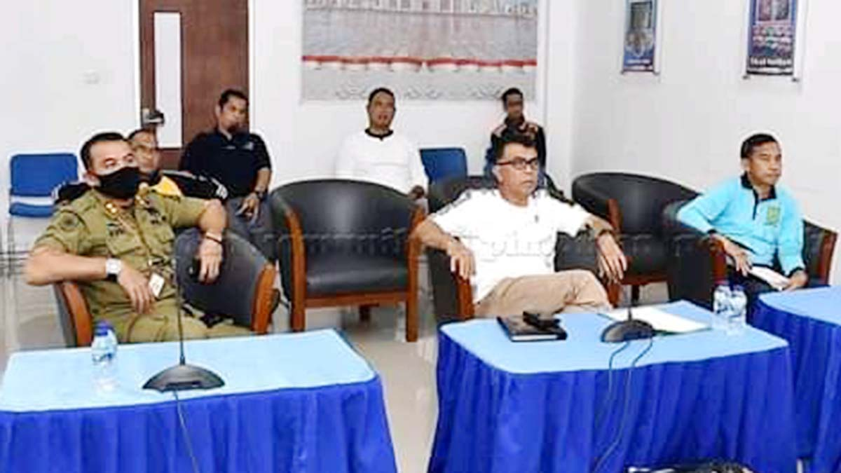 Sekda Natuna Bahas Persiapan Pilkada Bersama KPU, Bawaslu dan Sekda Kepri 5