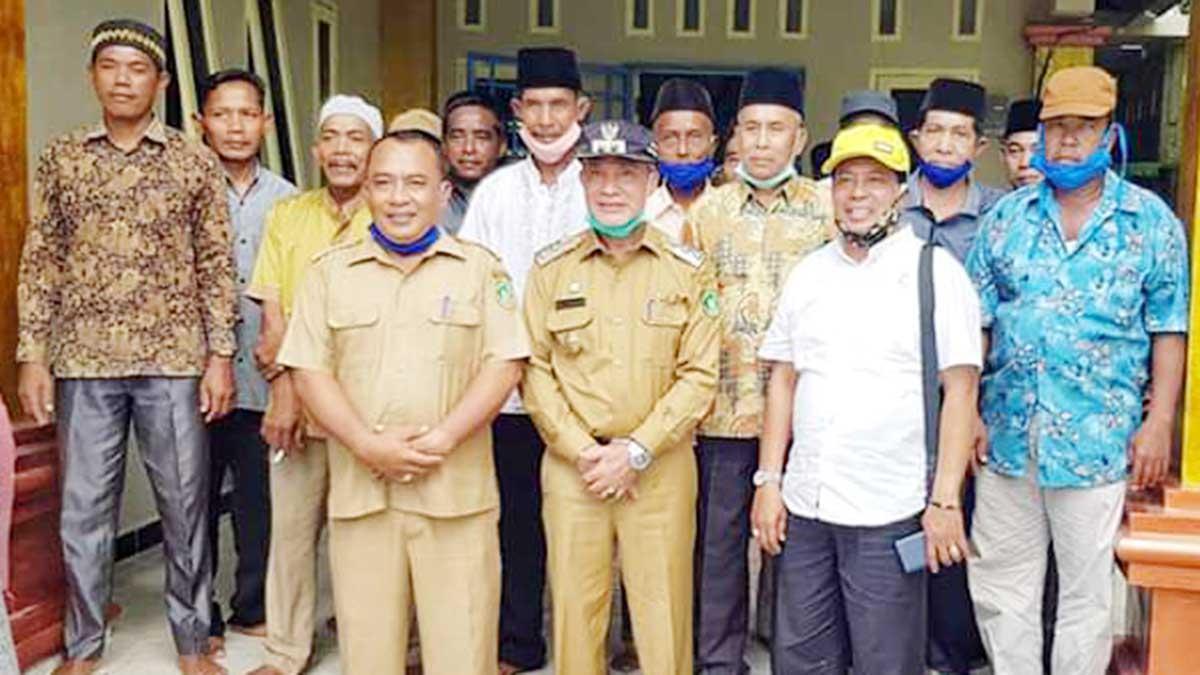 Ke Kecamatan Merbau, Wabup Meranti Sosialisasi Program Pembangunan 2020-2021 1