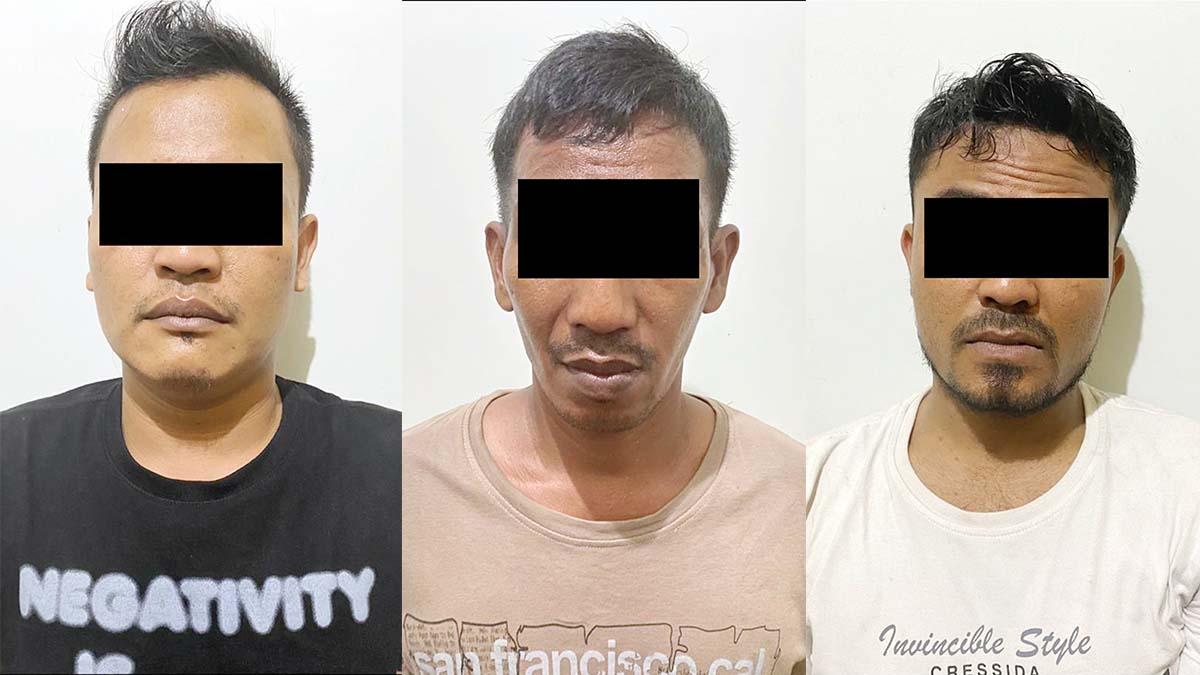 3 Warga Batam Ditangkap, 2 Kilo Sabu Diamankan 1