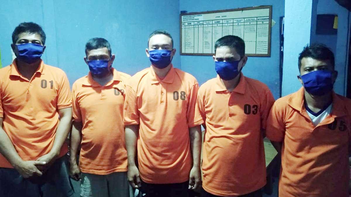 Curi Kabel, 5 Pelaku Ditangkap Ditpolairud Polda Kepri 6