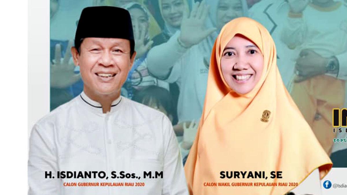 Koalisi PKS dan Hanura Siap Menangkan Pasangan Isdianto-Suryani 86