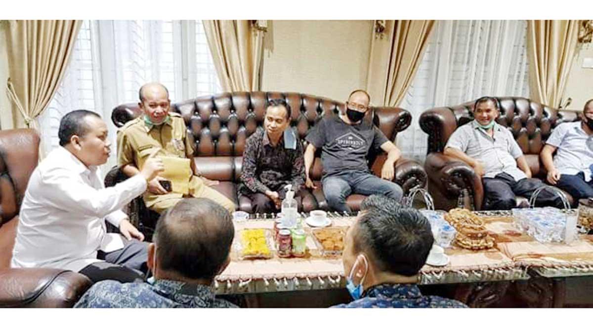 Jajaki Usulan Bupati, Perum Bulog Riau-Kepri Kunjungi Meranti 6