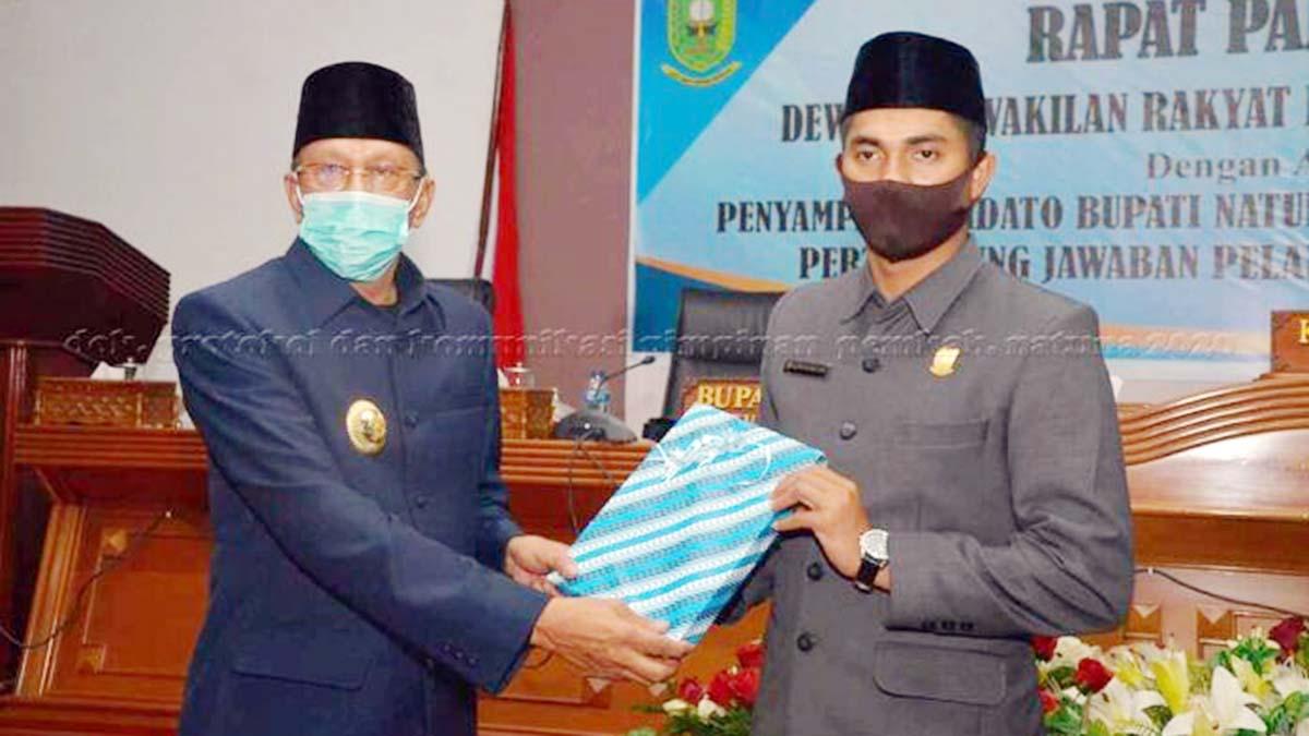 Semua Fraksi DPRD Natuna Setujui LPj Pelaksanaan APBD 2019 1