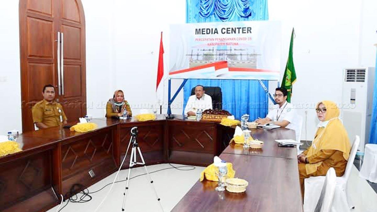 Bupati Natuna Hadiri Video Conference Sosialisasi Perpres No 64 Tahun 2020 dan Regulasi Turunan 8