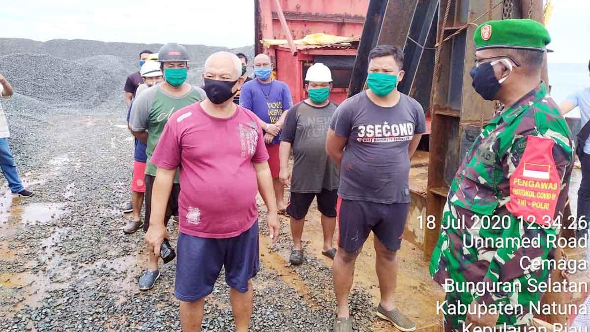 10 Crew Kapal Tongkang TB Bojomo 05 Diperiksa 1