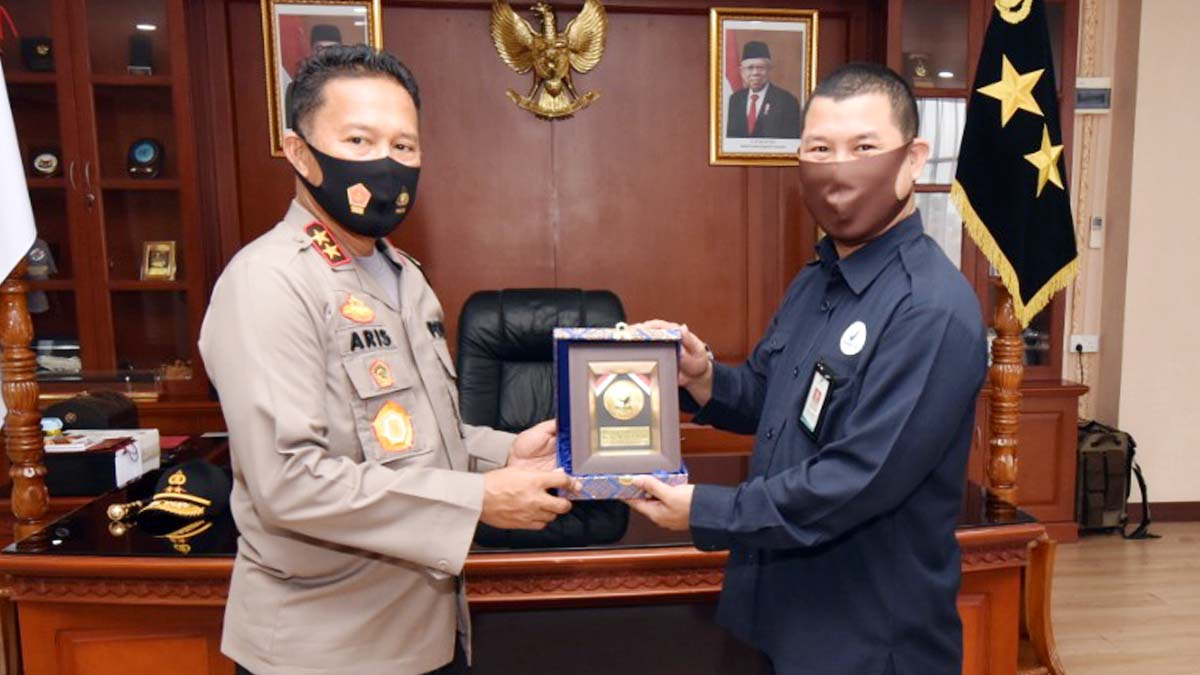 Kapolda Kepri Terima Kunjungan Kepala BPOM Batam 8
