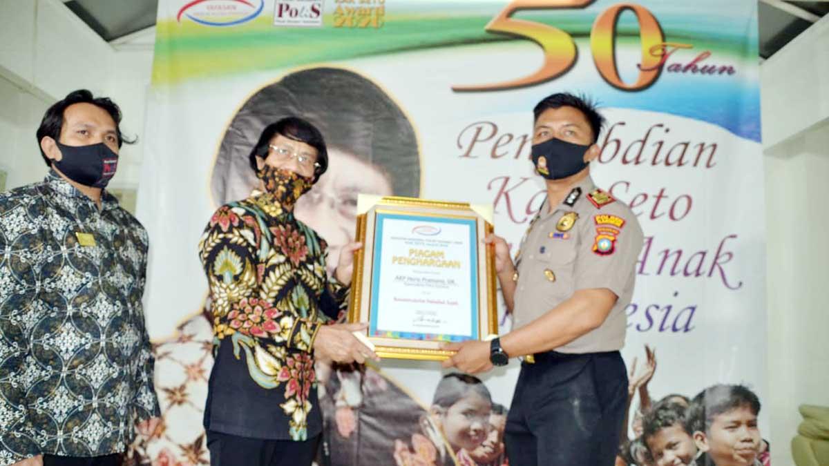 Kapolres Karimun Terima Anugerah Kak Seto Award 2020 11