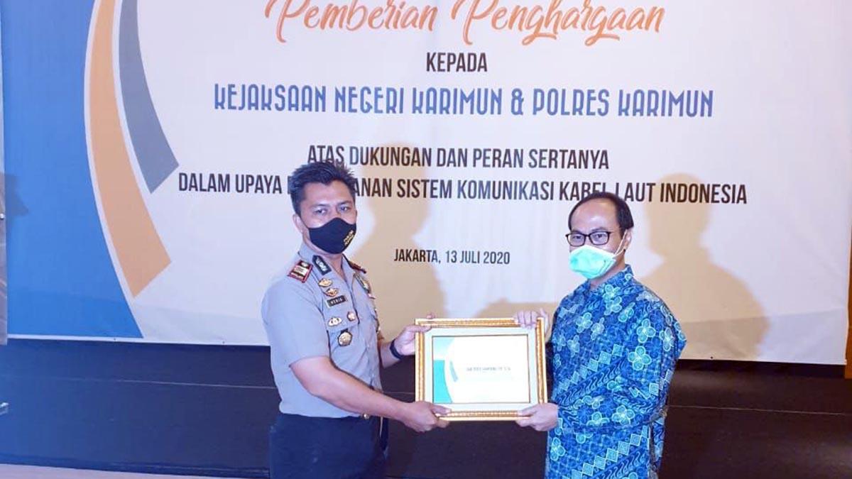 Askalsi Beri Penghargaan Pada Polres Karimun 8